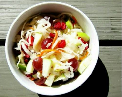 Салат из капусты с перцем болгарским на зиму