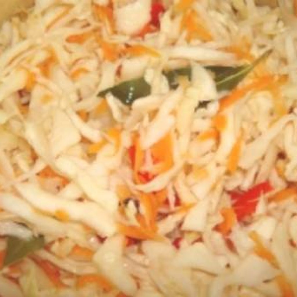 Рецепты салата на зиму из капусты с перцем
