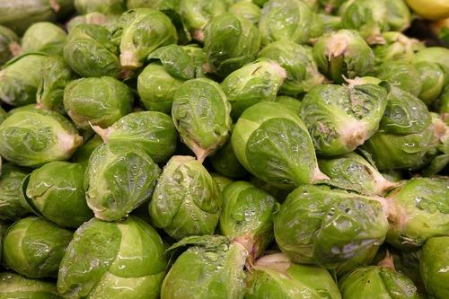 Заморозка брюссельской капусты