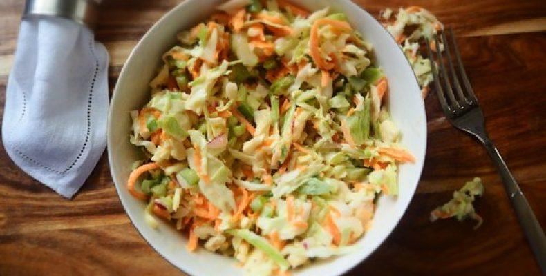 Лучшие рецепты салатов из ранней капусты