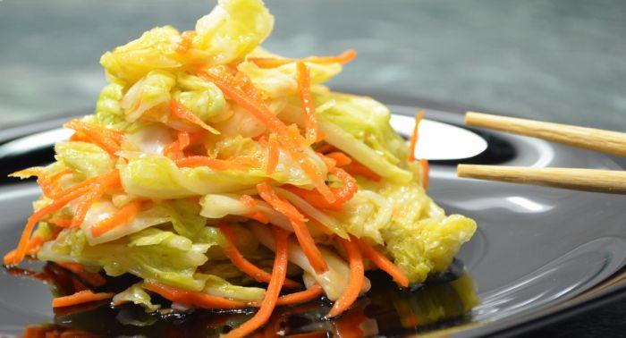 пекинская капуста на зиму по-корейски рецепт