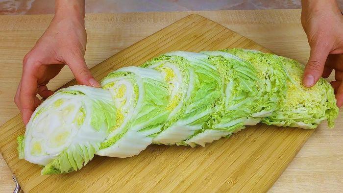 что приготовить из пекинской капусты на зиму