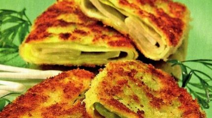 Быстрые и необычные рецепты шницелей из белокочанной капусты
