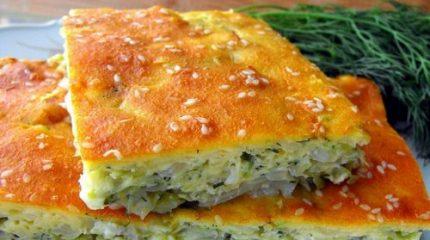 Самые простые и вкусные пироги на основе капусты и яиц